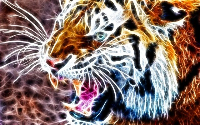 Tiger Animal 3d 183 Free Photo On Pixabay