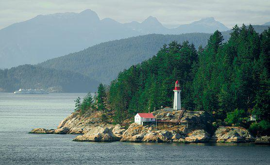 Lighthouse, Vancouver, Island, Canada