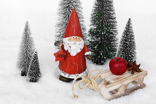 サンタクロース, ニコラス, クリスマス, クリスマスの装飾