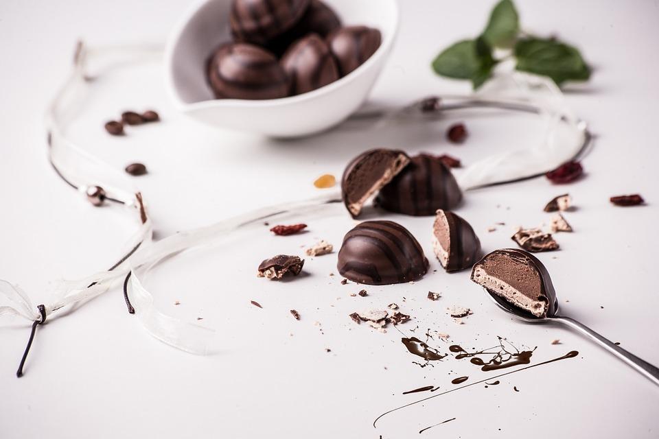 Praliné, Sobremesa, Chocolate, Pintura, Calorias