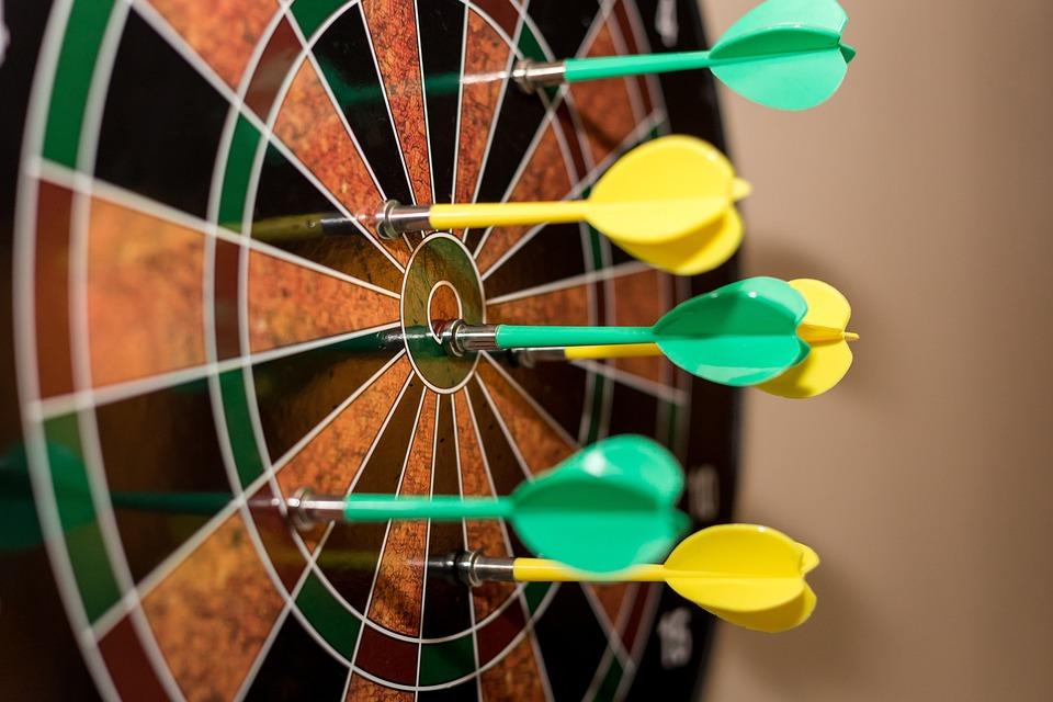 Darts Dartboard Dart Board Free Photo On Pixabay
