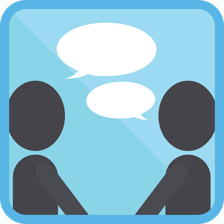 Icon People Talk · Free vector graphic on Pixabay