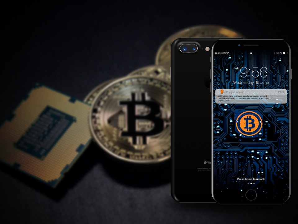 Iphine 8, Bitcoin, Technology, Electronic, Cellular