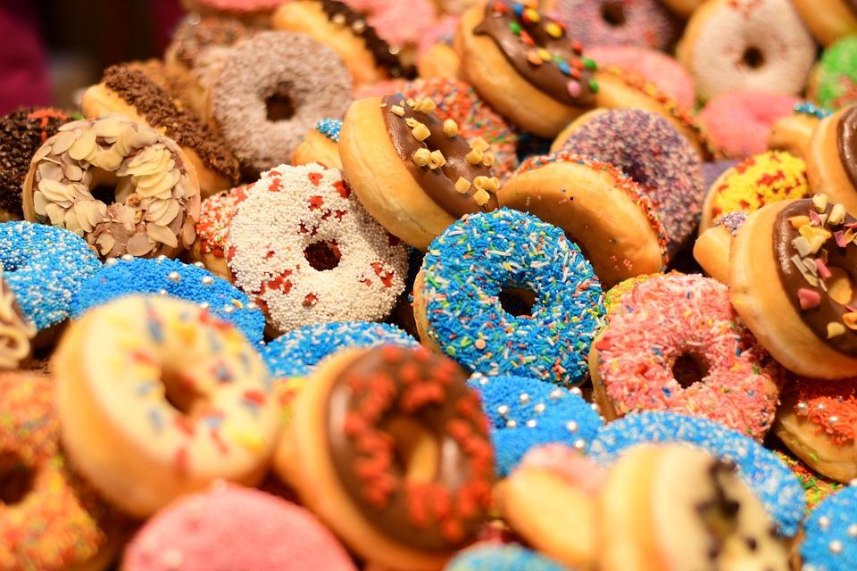 Donuts, Doughnut, Sweet, Cosy, Tasty, Cake, Pastry