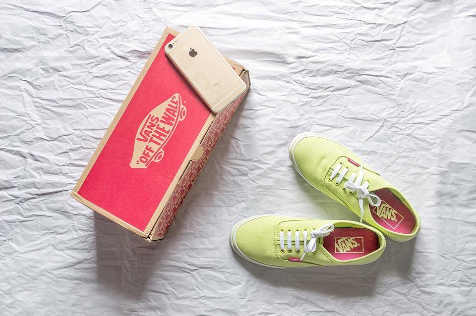 vans schoenen doos