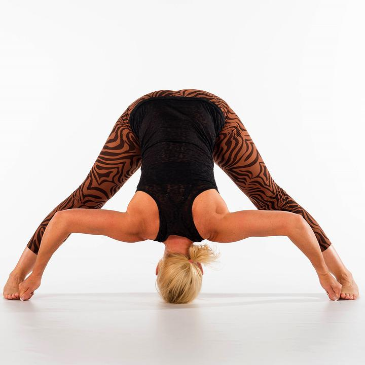 Yoga, Fitness, Woman, Ashtanga, Acrobatics, Sportive