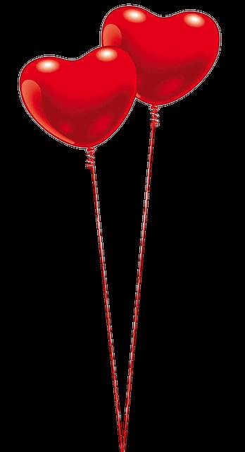 balloon heart red free image on pixabay. Black Bedroom Furniture Sets. Home Design Ideas
