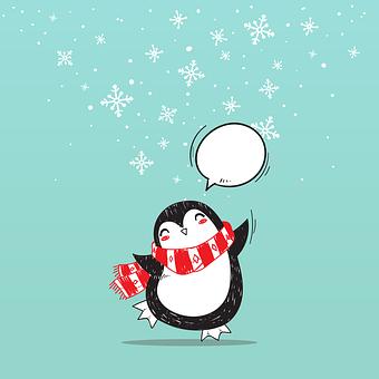 Christmas, Penguin, New Year'S Eve, Bird
