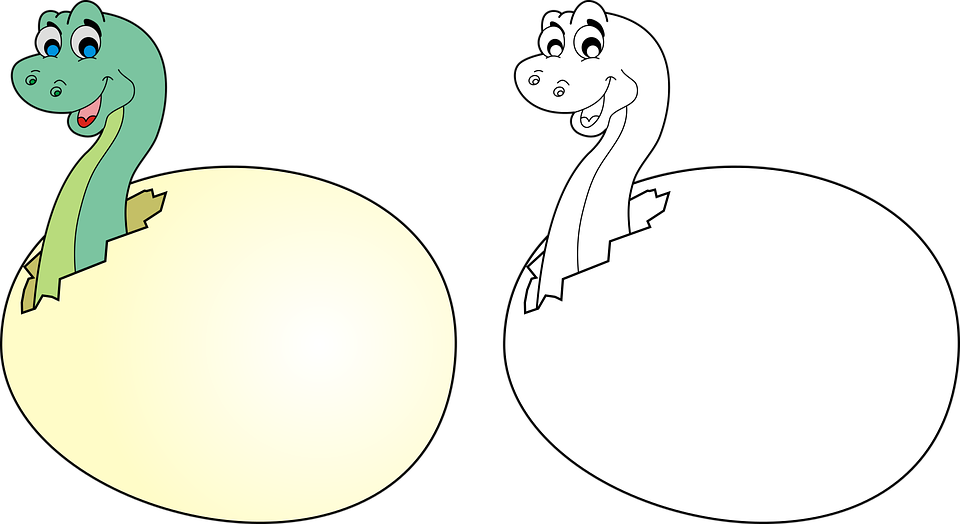 El Huevo Dinosaurio · Gráficos vectoriales gratis en Pixabay
