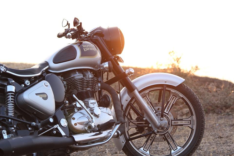 royal enfield bullet bike free photo on pixabay