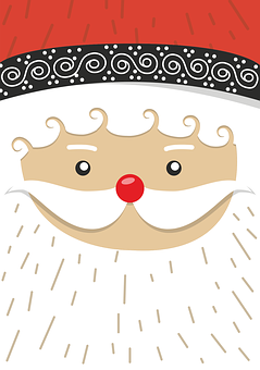 Santa Claus, Christmas Motif, Winter