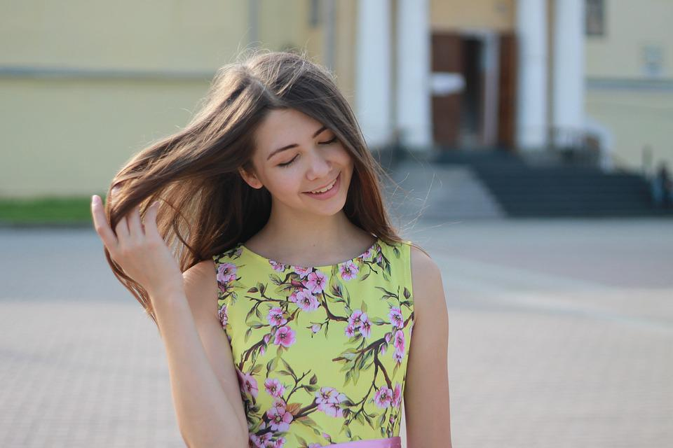 Girl, Summer, Dress, Vologda, Girls, People, Glamour