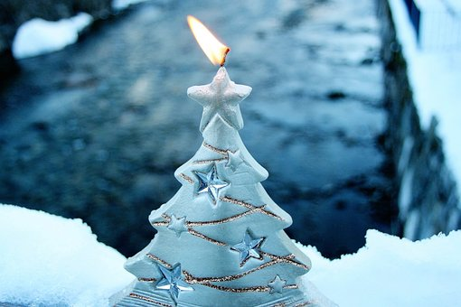 Asterisk, Candle, Christmas, The Scenery
