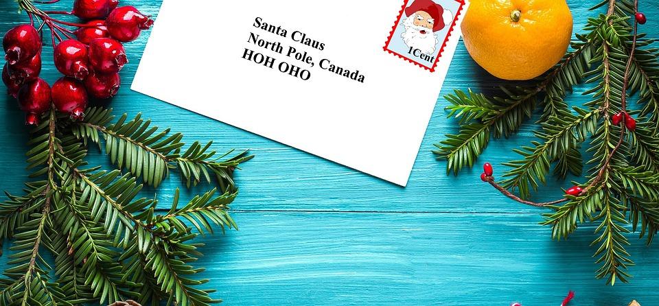 Письмо, Санта, Рождество, Праздник, Санта Клаус, Клаус