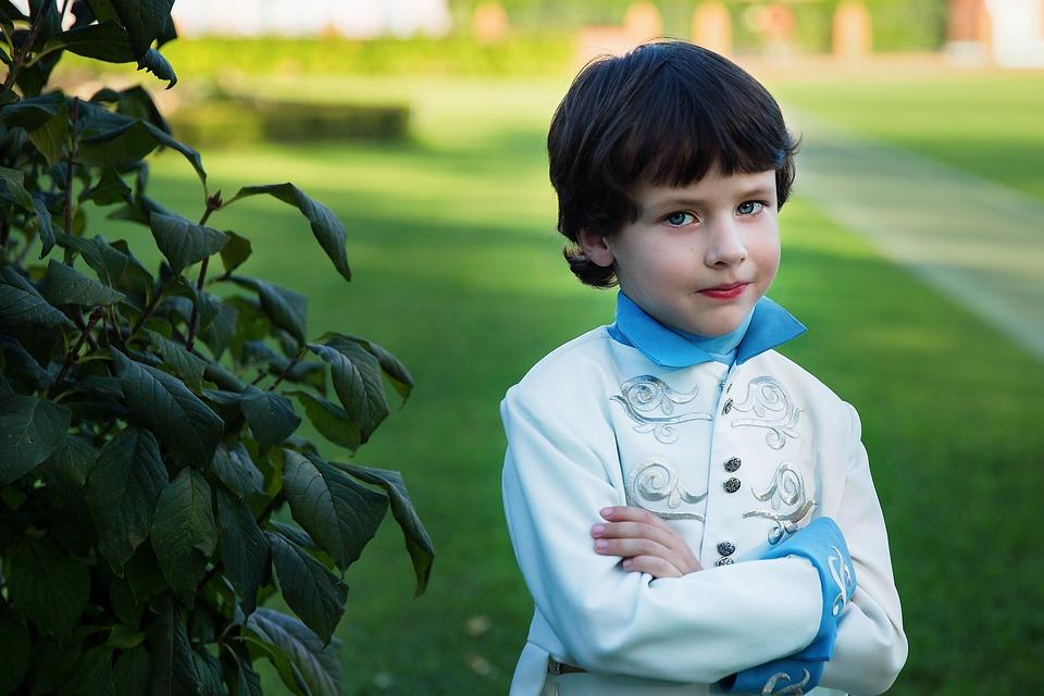 El Príncipe, Chico, Disfraz, Infancia, Historia, Elf