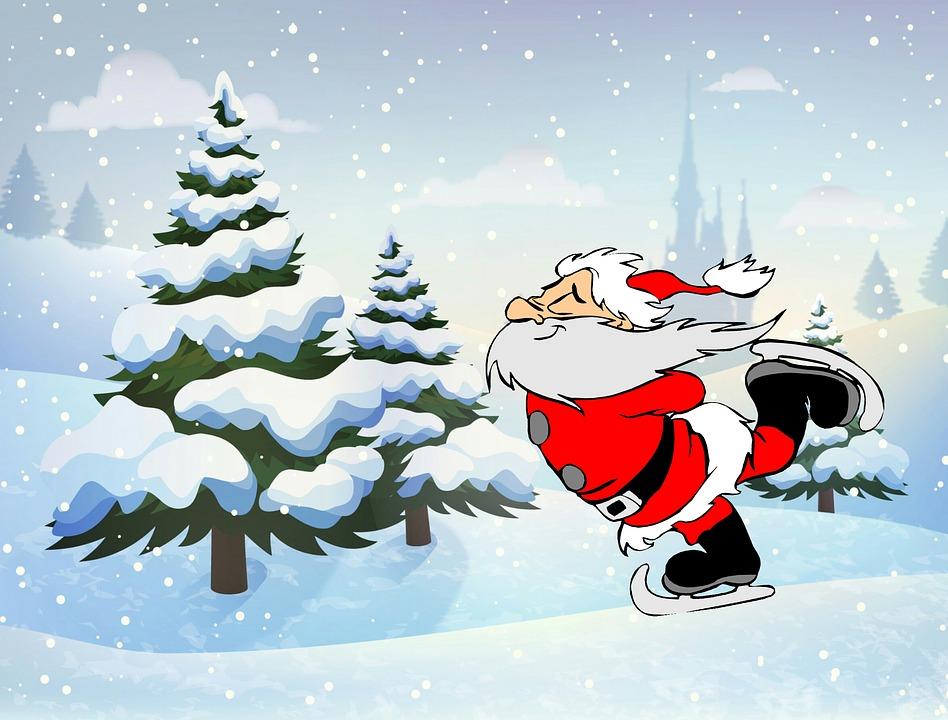 Schneefall Weihnachten Santa Claus · Kostenloses Bild auf Pixabay