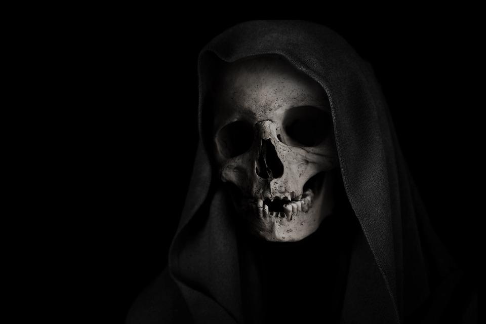 Grim Reaper, Cráneo, La Muerte, Esqueleto, La Cara