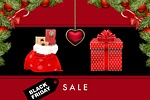 black friday, christmas, texture