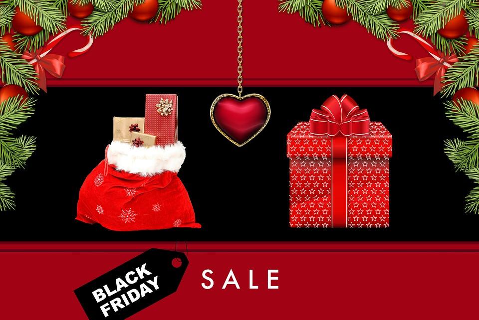 Black Friday, Boże Narodzenie, Tekstura, Tło, Rabaty