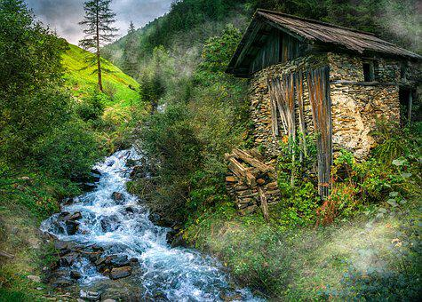 La Naturaleza, Paisaje, El Agua, Austria