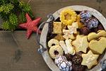cookies, star