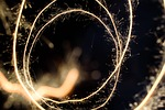 effect, sparkler, light