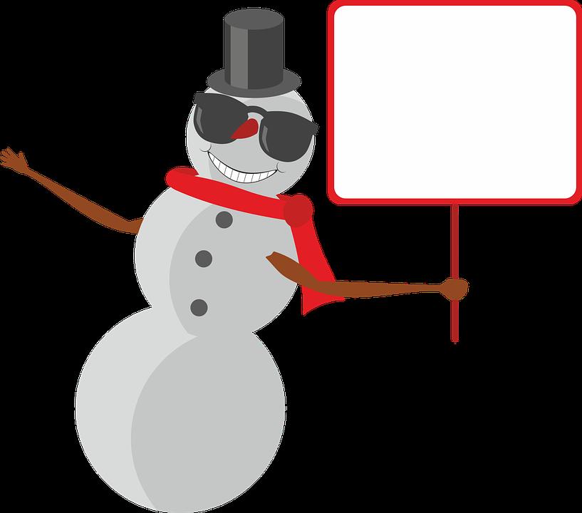 Schneemann Schnee Winter · Kostenlose Vektorgrafik auf Pixabay
