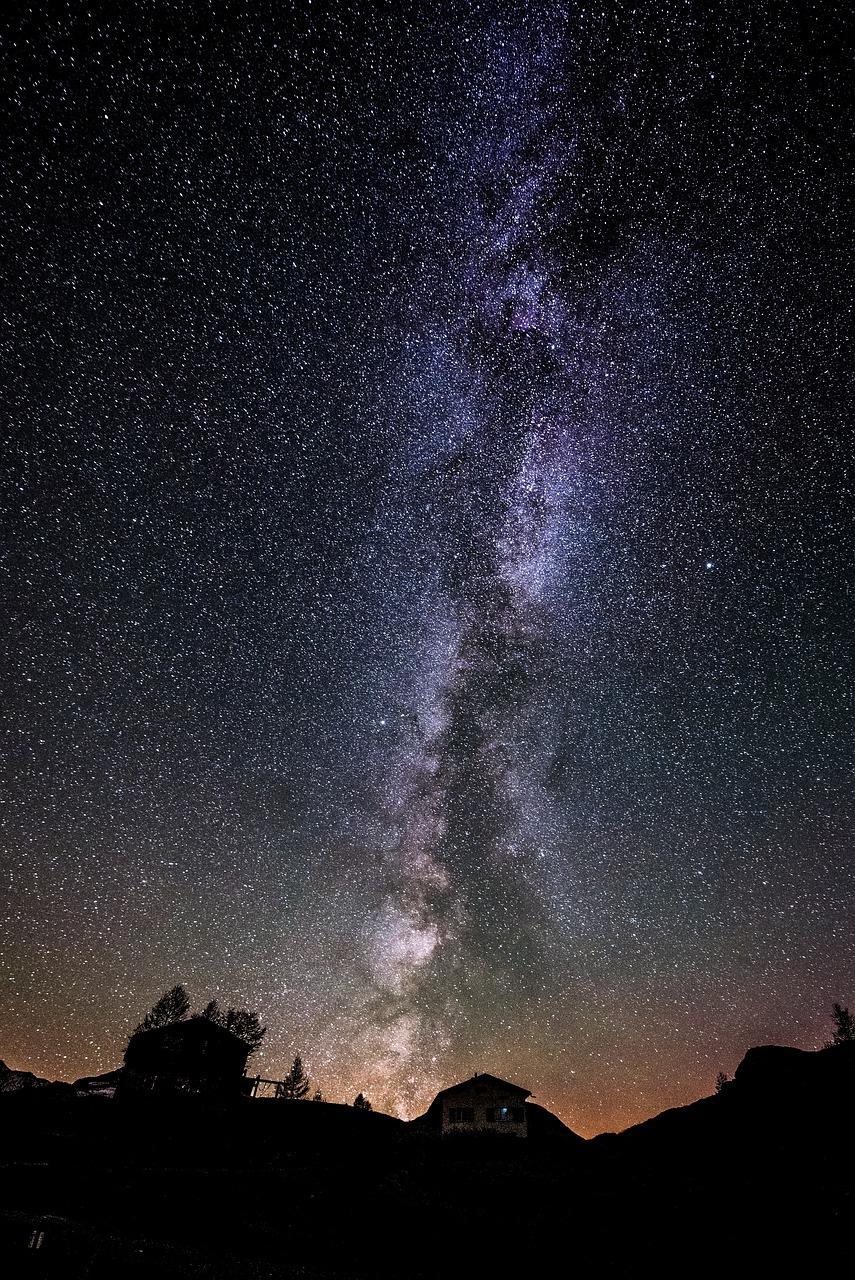 фото млечного пути на небе модница призналась