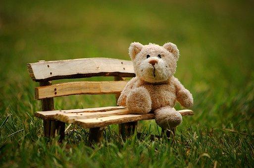 テディ, 動物のぬいぐるみ, 楽しい, テディベア, 小さなクマ, 可愛い