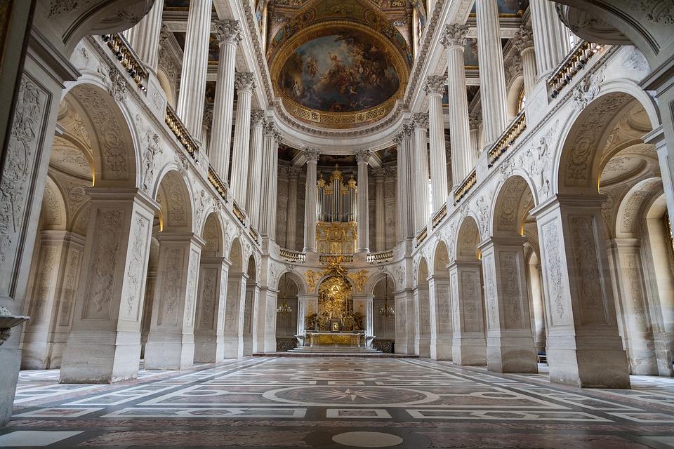 Palácio De Versalhes, Paris, Versailles, França
