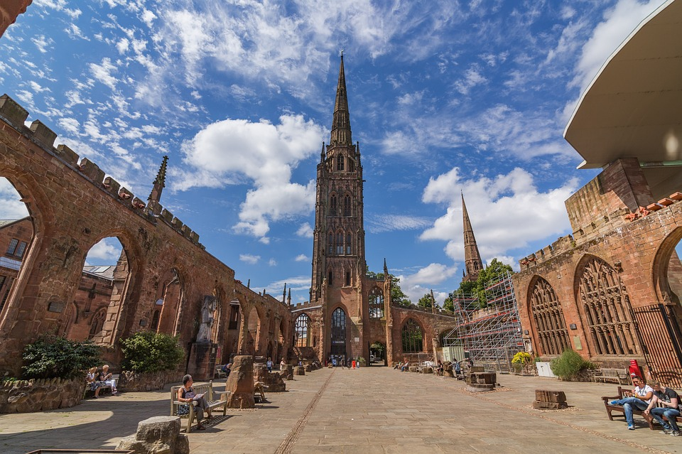 Coventry, City, England, Cathedral, Architecture https://pixabay.com/photos/coventry-city-england-cathedral-2979432/