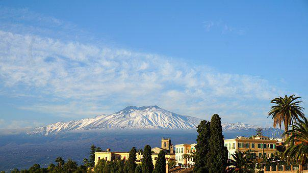 Etna, Volcan, Sicile, Italie, Sommet