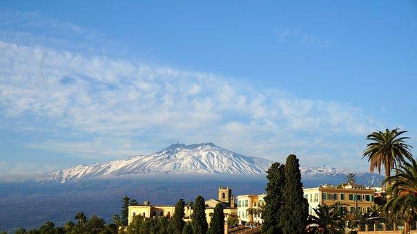 Etna, Vulcano, Sicilia, Italia, Summit