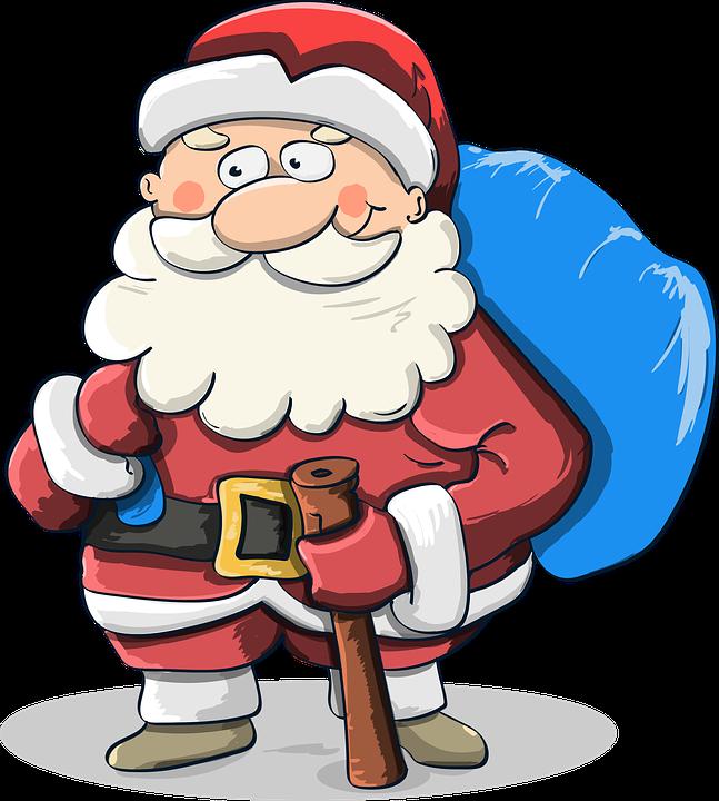 Santa Claus, Santa, Klaus, Navidad, Invierno, Holiday