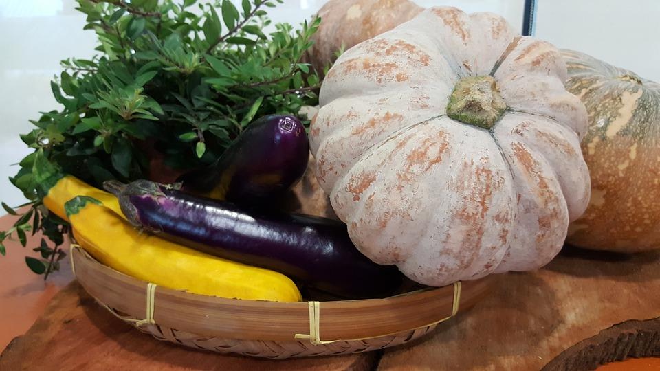 Zucca, Veg, Melanzane, Sano, Cibo, Vegetale