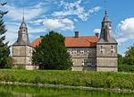 castle, moat
