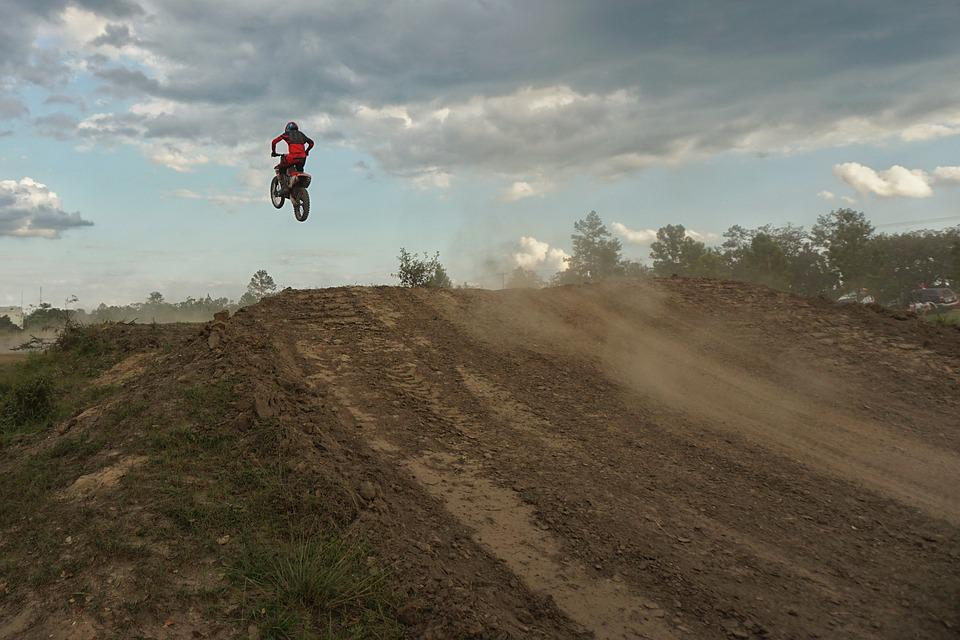 Dirt Bike Ramp >> Motocross Dirt Bike Ramp Free Photo On Pixabay