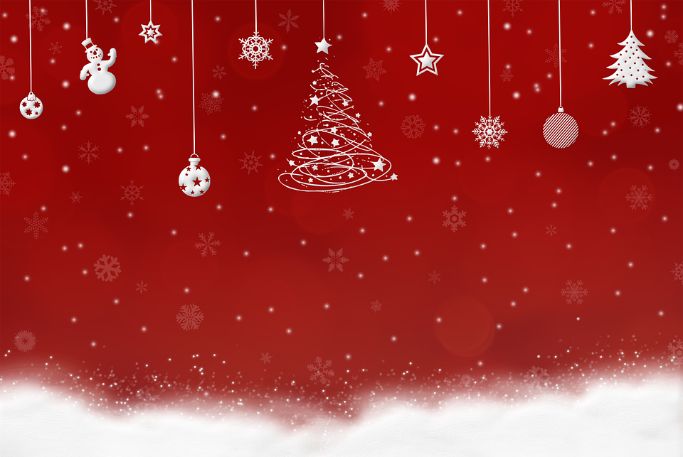 funds christmas snow background free image on pixabay