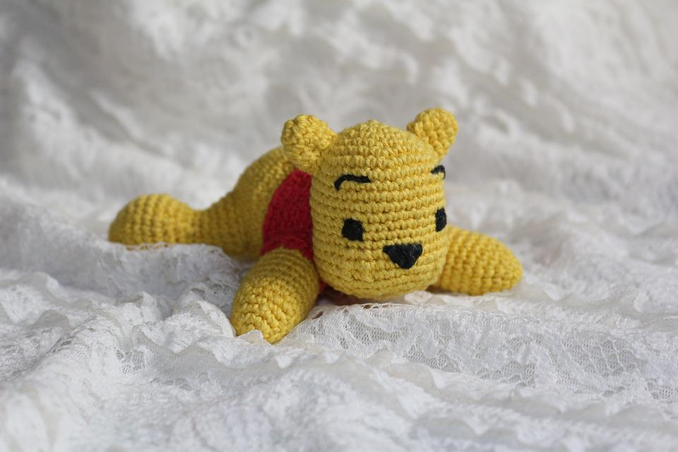 Bear Winnie The Pooh Toy Knitted Free Photo On Pixabay