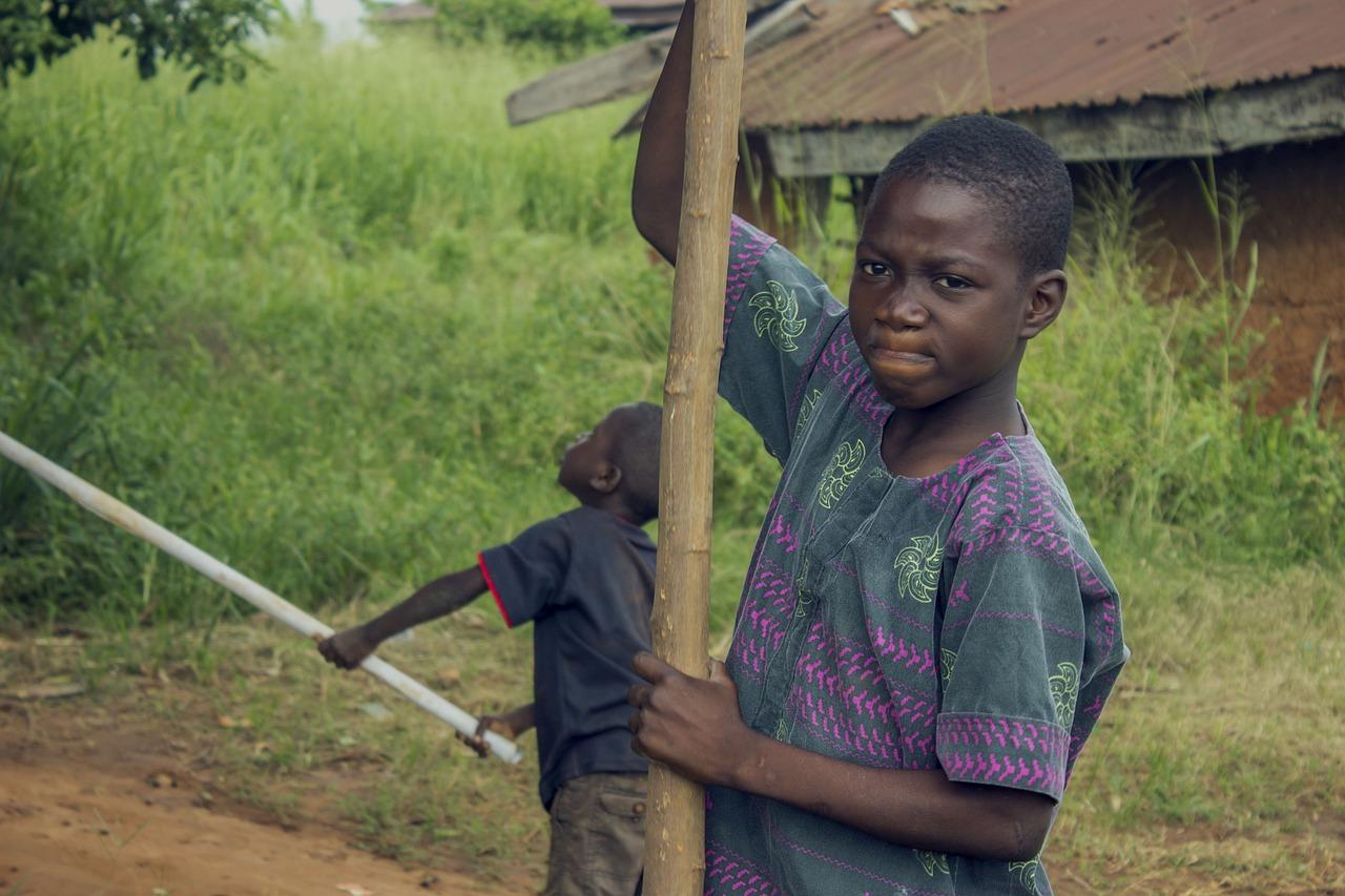 African nigerian boys #1