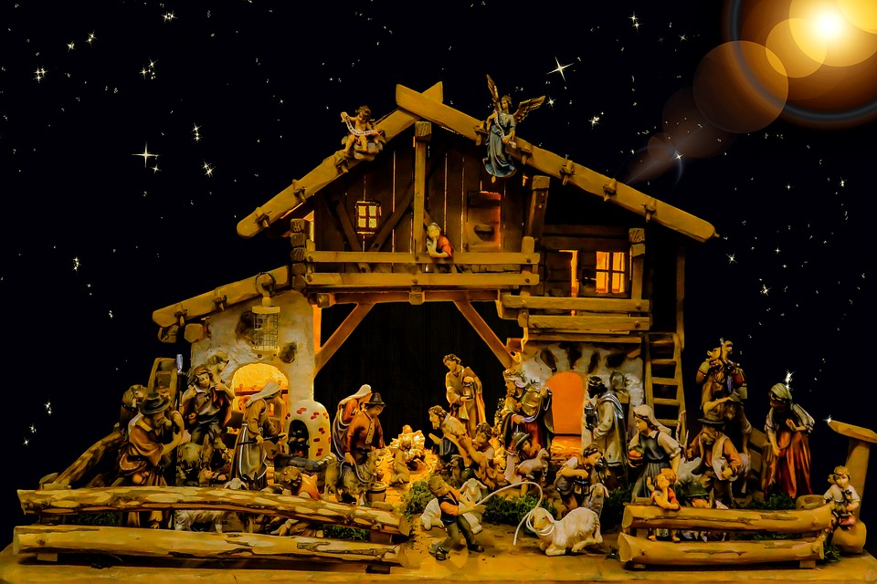 christmas crib pictures