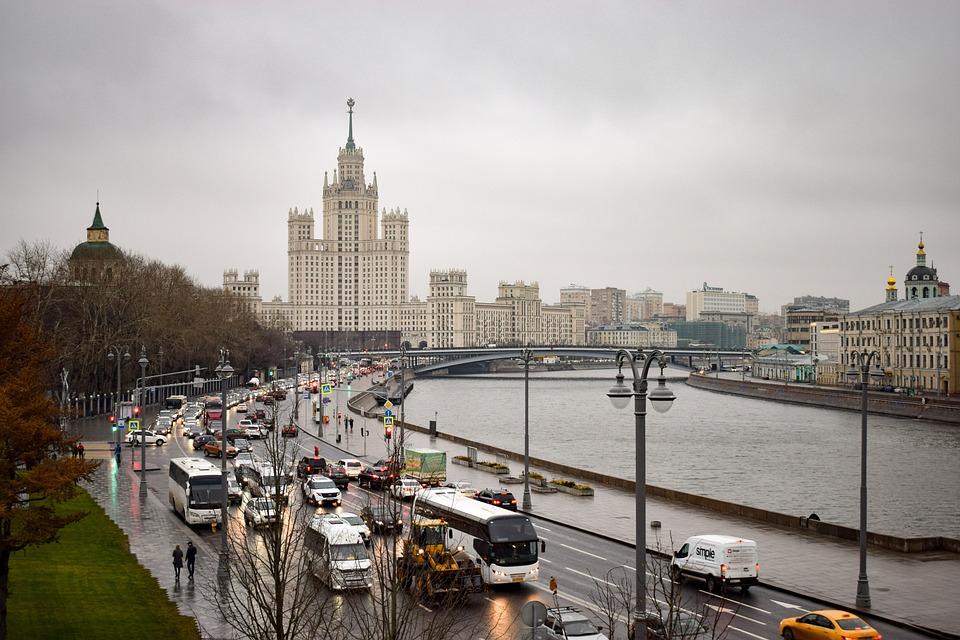 Москва, Столица, Россия, Город, Здание, Здания, Высотка