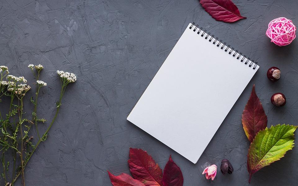 ノート, 葉, 紙, 仕事, オフィス, 書き込み, レコード, 日記, テーブル, アルバム