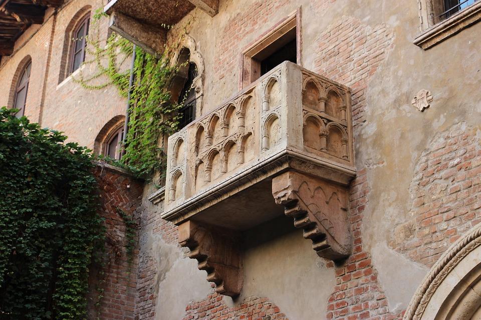 Balcone, Verona, Veneto, Italia, Monumento, Turismo