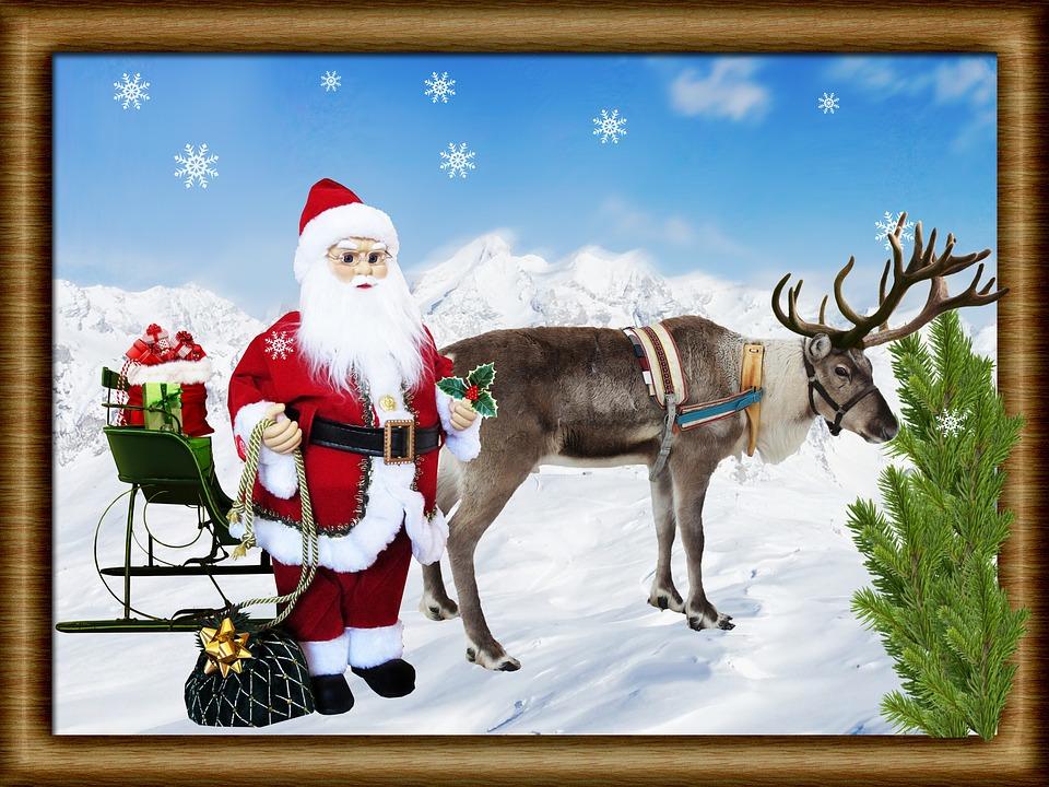 Weihnachten Szene Schlitten · Kostenloses Foto auf Pixabay