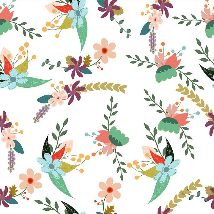 Floral Backdrop Pattern · Free Image On Pixabay