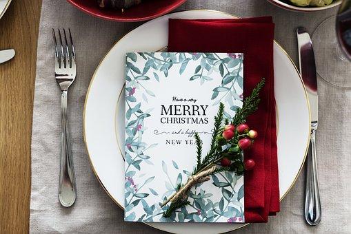 Karte, Feiern, Feier, Weihnachten