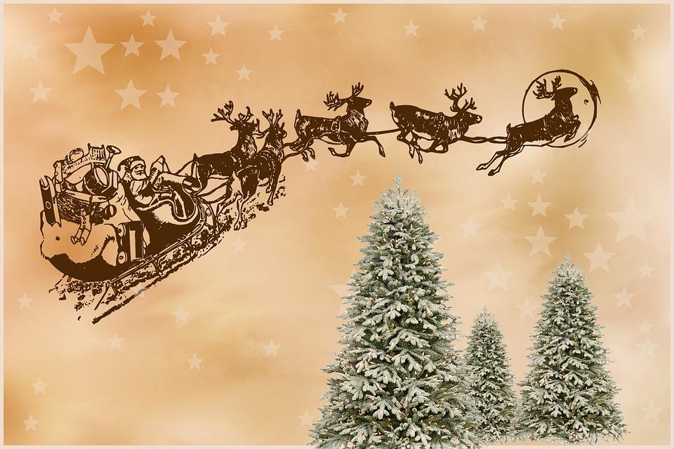 santa claus christmas christmas motif - Santa For Christmas