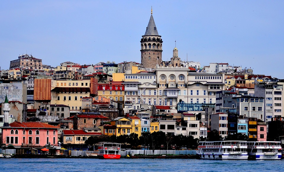 Venue, Istanbul, Tower, Galata, Galata Tower, Turkey