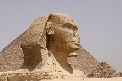 Sphinx, Pyramid, Egypt